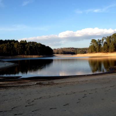lac de marcillac la croisille